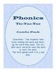 Phonics Tic-Tac-Toe