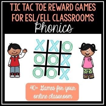 Phonics Tic Tac Toe for Online Teaching