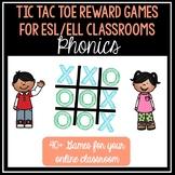 Phonics Tic Tac Toe for VIPKID/ESL Online Teaching