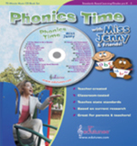 Phonics Time: Short Vowels, Long Vowels, Sight Words & MORE - 28 Songs