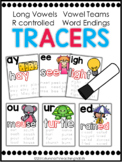 Phonics Tracers Long Vowels, Vowel Teams, R Controlled, an