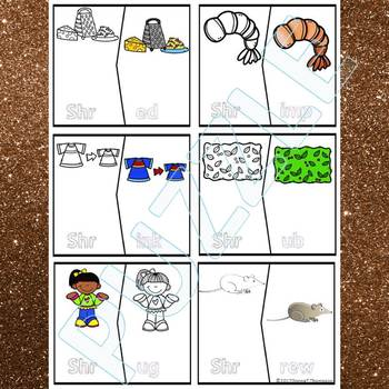"Phonics ""Trigraph"" (Puzzle Cards)"