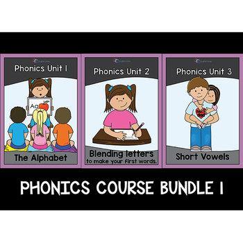 Phonics Unit 1 -3 Bundle