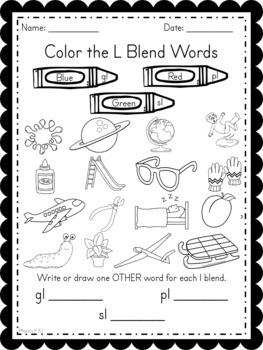 Phonics Unit 2 Consonant and Final Blends