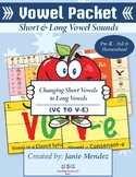 Phonics: Unit 3:  Flipping or Changing the Vowel: Short to Long (Magic E)