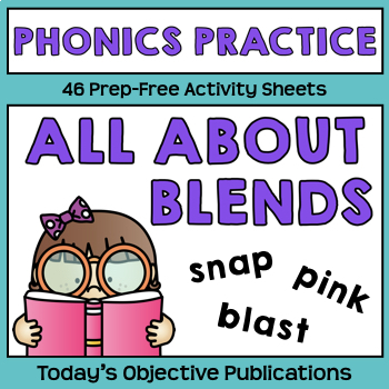 Blends Phonics Activities