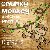 Phonics Unit- Digraphs: Teaching Resources and Literacy Center Activities
