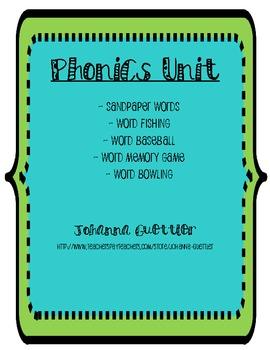 Phonics Unit