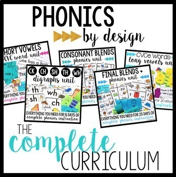 Phonics by Design: The Complete Level I Bundle
