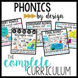 Phonics by Design Curriculum: Level I Bundle | Special Education Phonics