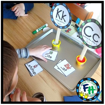 "Phonics Using ""K"" or ""C"" Activity Set"