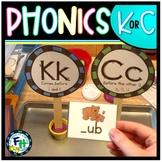 "Phonics Using ""K"" or ""C"" Activity Set"