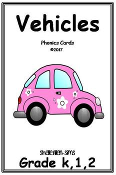 Phonics- Vehicles