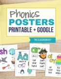 Phonics Posters for Sound Spelling - Printable and Google