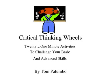 Phonics, Vocabulary, and Spelling Motivators: Critical Thinking Wheels