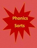 Phonics Vowel Pattern Sorts