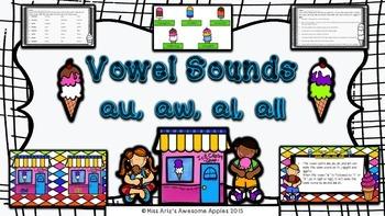 Phonics - Vowel Sounds - (au/aw/al/all) - Grades 3-6