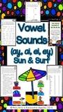 Phonics - Vowel Sounds (ay/ai/ei/ey) Surf & Sun - Grades 4-6