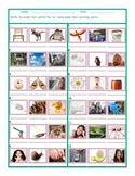 Phonics Vowel Team AU Photo Worksheet