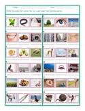 Phonics Vowel Team EE Photo Worksheet
