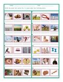 Phonics Vowel Team IE Photo Worksheet