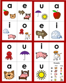 Phonics Vowel & Vowel Pattern Flashcards, Long Vowels, Vowel Digraphs, Dipthongs