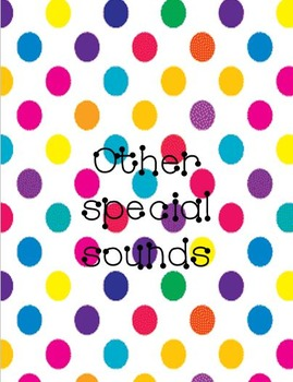 Phonics Wall Cards - Special Sounds