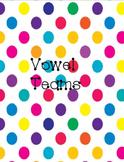 Phonics Wall Cards - Vowel Teams
