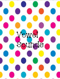 Phonics Wall Cards - Vowel sounds