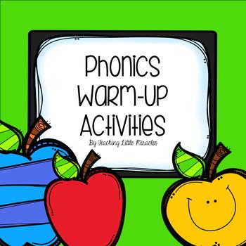 Phonics Warm-Up Activities