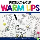 Phonics Warm Ups