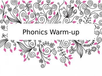 Phonics Warm-up