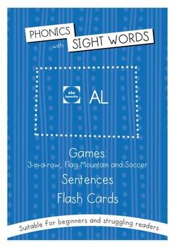 Phonics With Sightwords AL Bundle
