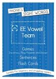 Phonics With Sightwords EE Vowel Team Bundle
