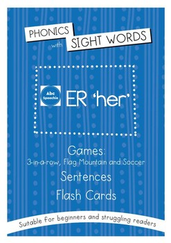 Phonics With Sightwords ER Bundle