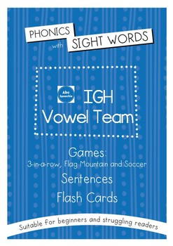 Phonics With Sightwords IGH Bundle
