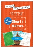 Phonics With Sightwords Short i games FREEBIE