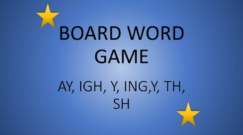 Phonics Word Board Games, 7 for the price of 5