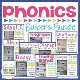 Phonics Word Building Mats All Year Bundle