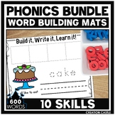 Phonics Word Building Mats GROWING Bundle