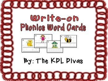 Phonics Word Cards