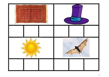 Phonics - Word Cards Set 1