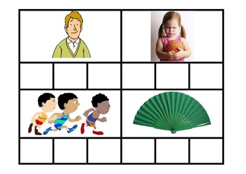 Phonics - Word Cards Set 2