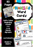 Phonics Word Cards Ultimate bundle