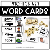 Phonics Word Cards | Word Wall, Literacy Center, Word Work