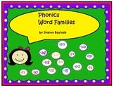 Phonics Word Families Literacy  Center Activity