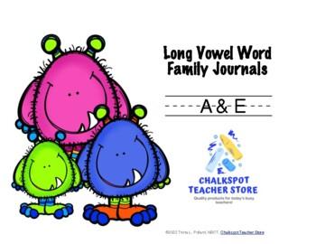Word Sort Journals: Long A & E (CCSS Aligned)