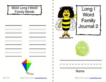 Word Sort Journals: Long E & I (CCSS Aligned)