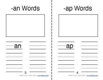 Word Sort Journals: Short A, E, & I (CCSS Aligned)