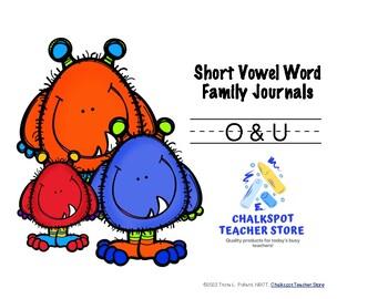 Word Sort Journals: Short O & U (CCSS Aligned)